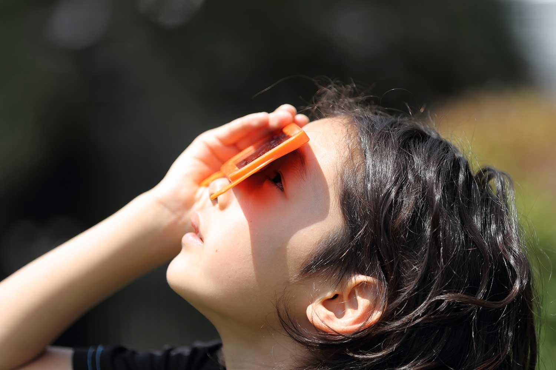 Safe solar viewing methods