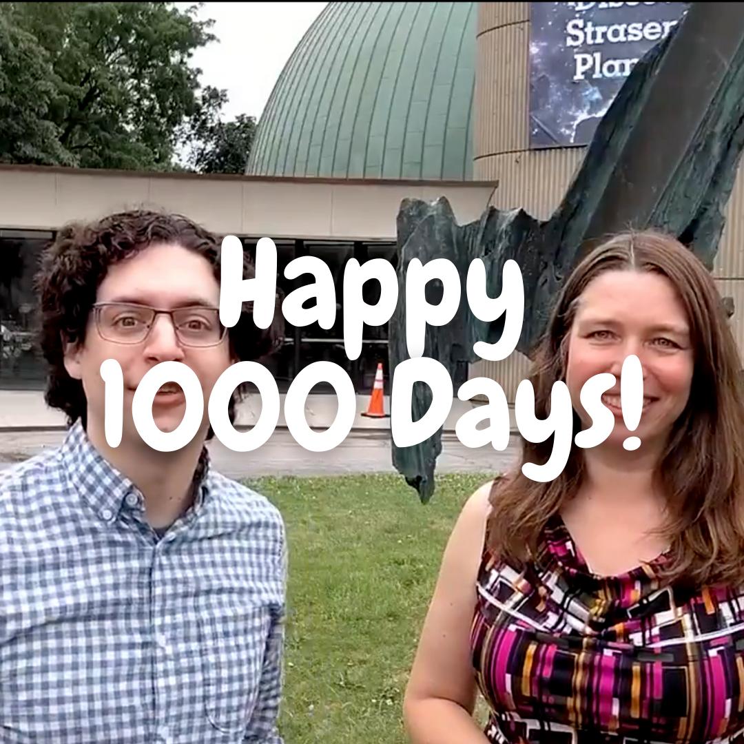 1000 Days Until Total Solar Eclipse
