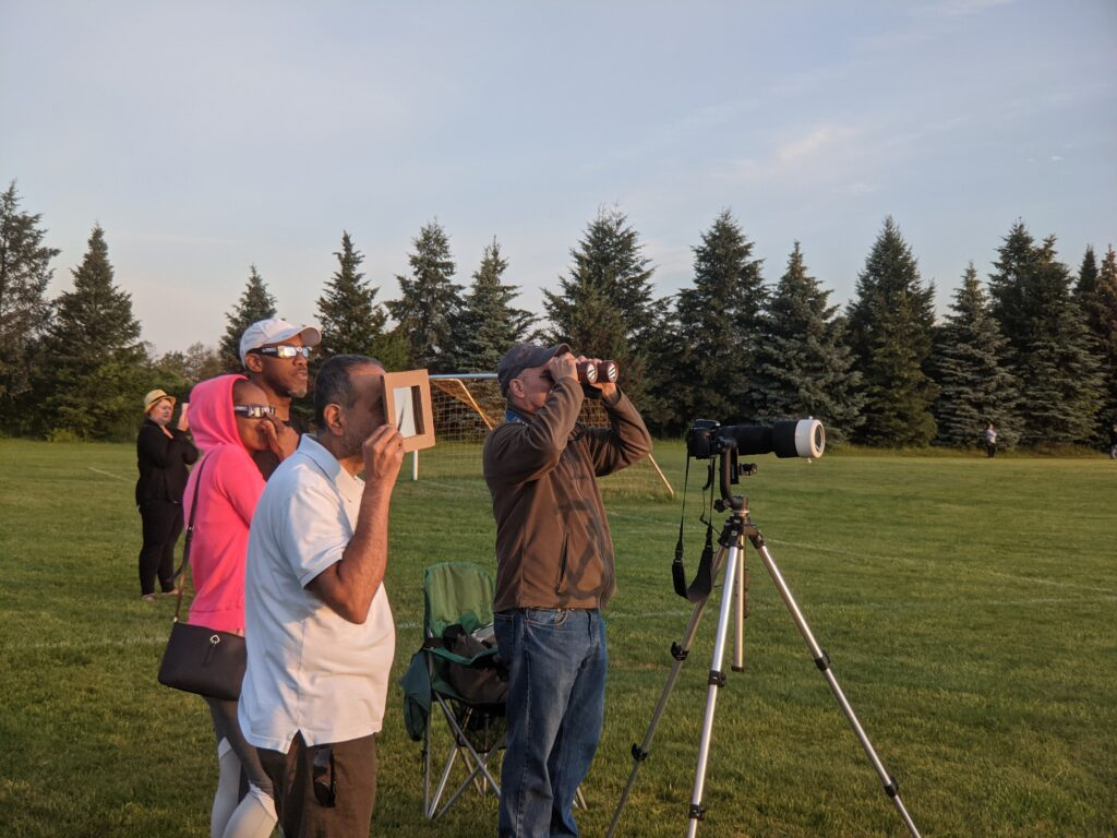 2021 Partial Eclipse – In the News